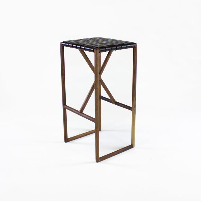 Montgomery Modern Bar or Kitchen Stool by CrumpandKwash