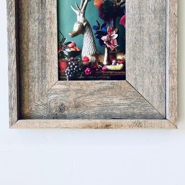 5x7 Opening Barnwood Frame | 5x7 inch Reclaimed Wood Frame | 5x7 Rustic Picture Frame | Photo Frame | Wall Hung Rustic Wood Frame | Wedding by PiccadillyPrairie