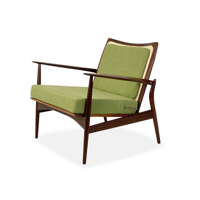 Ib Kofod Larsen Spear Chair (Model 544-15) by Selig, Circa 1960s - *Please ask for a shipping quote before you buy. by CoolCatVintagePA