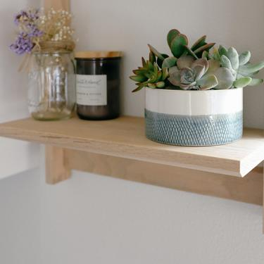 Kitchen Shelves. Wall Mounted Shelves. Modern Wall Shelf. Entryway Wall Shelf. by abdobuilds