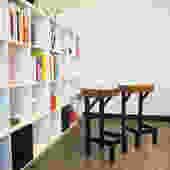 Joist-let stools by twoboltsstudios