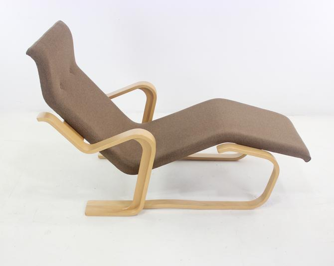 "The ""Long Chair"" Bentwood Lounge Designed by Marcel Breuer"