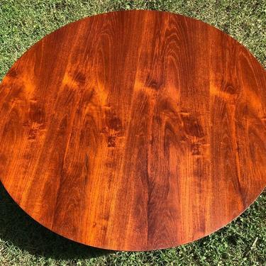 Unusual Teak top Mid Century Lane coffee table 40
