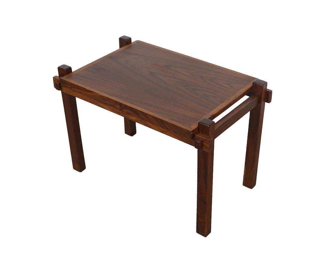 Coffee Table Tray Contemporary: Rosewood Side Table Tray Table Coffee Table Danish Modern