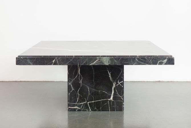 Square Marble Coffee Table by HomesteadSeattle