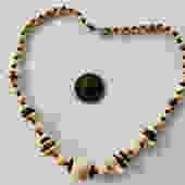 Antique Art Deco, Choker, Necklace, Czech Pressed Glass by LegendaryBeast