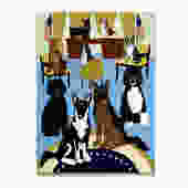 Presidential Dogs First Dog Tea Towel