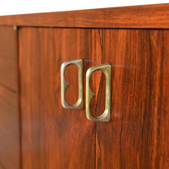 American Modernist Rosewood Sideboard