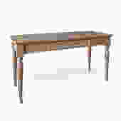 Desk, Vanity, Writing Desk, Reclaimed Wood, Farmhouse, Rustic, Handmade by VintageMillWerks