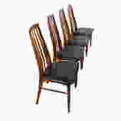Set of 4 Koefoed Hornslet Danish Modern Teak Dining Chairs