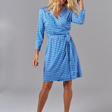 Rachel Wrap Dress | Classic Teardrop in Sky Blue