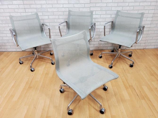 Eames for Herman Miller Aluminum Group Chair - Set of 4