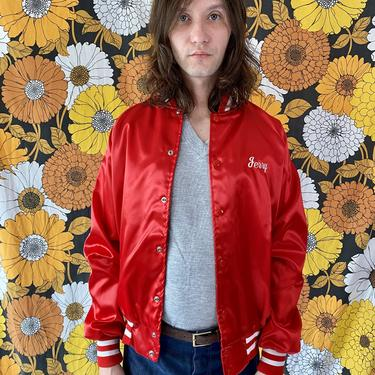 Jerry's Red Satin Jacket!