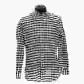 Thom Browne Black Checkered Shirt