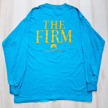 Vintage 90s Movie Promo T Shirt, 1990s Tee, The Firm, Tom Cruise, Single Stitch, Rare, Cult Film by WildwoodVintage