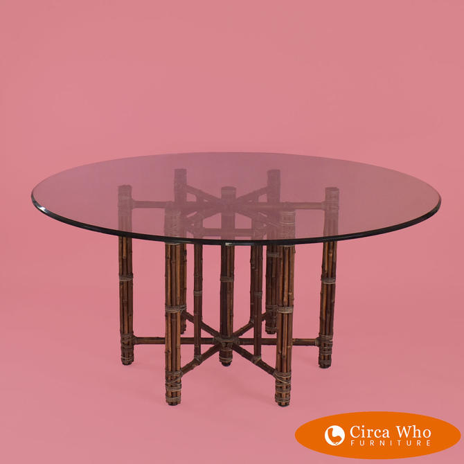 Round McGuire Dining Table
