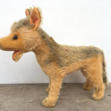 Vintage Steiff German Shepard Stuffed Animal, Steiff Dog 1170, REVIEW Entire Description, SEE All Photos by luckduck