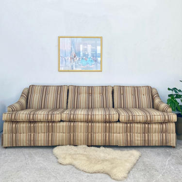 MCM Striped Sofa