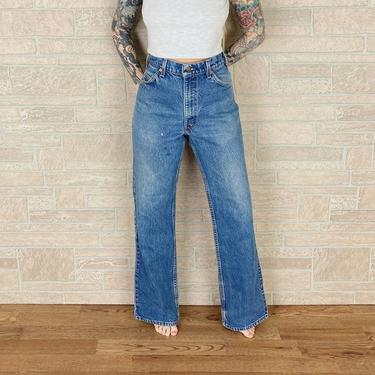 Levi's 517 Orange Tab Jeans / Size 32 33 by NoteworthyGarments
