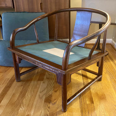 Mid Century Asian Inspired Chair in the Style of James Mont Rosewood by MSGEngineering