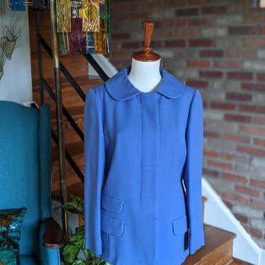 Vintage 1940's 1950's Julius Garfinckel & Co. Boykoff Cobalt Blue Coat by BeesKneesVintageDC