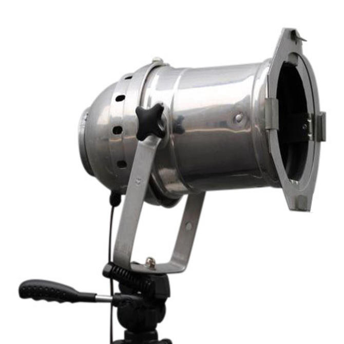 Industrial Floor Lamp with Tripod Base