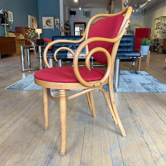 Set of 6 Bent Wood Dining Chairs