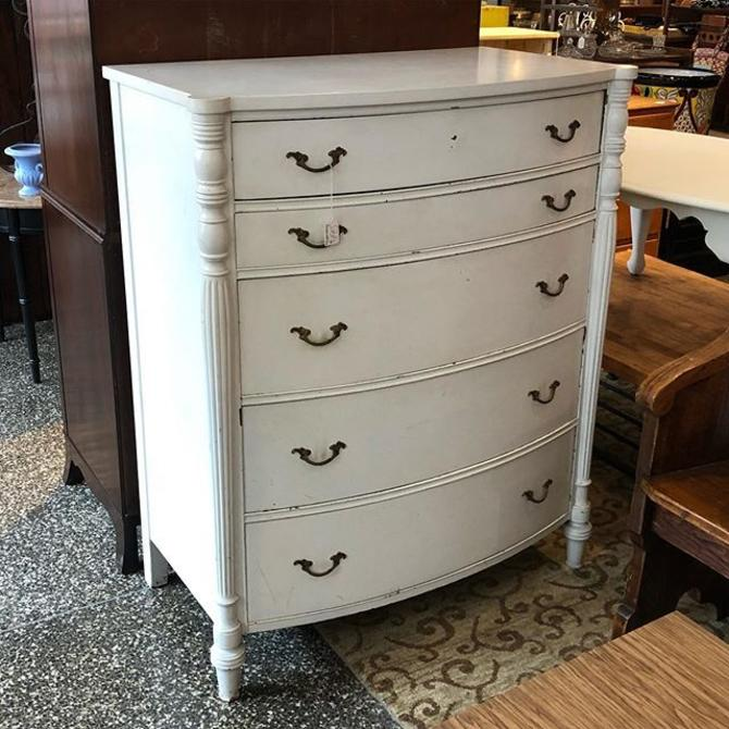 White painted Chest of drawers - $495!