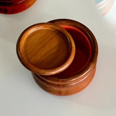 A Loving Cared for Soft Patinated Early Teak Vintage Modern Ice Server by Richard Nissen Denmark by modern2120