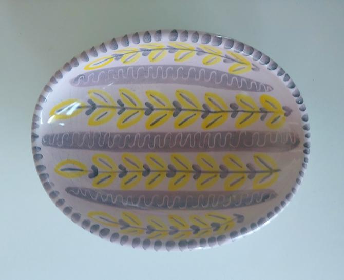 Vintage Laholm Keramik Oval Dish by ModandOzzie