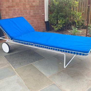 Richard Schultz Early Wire Chaise Lounge for Knoll Patio Outdoor by MSGEngineering