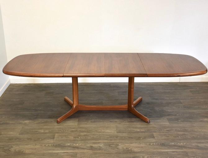 Dyrlund Danish Modern Teak Dining Table by mixedmodern1