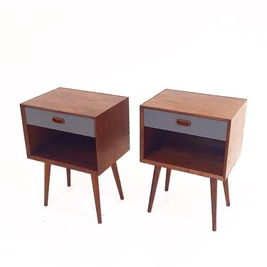Nightstands by CaliforniaMWoodworks