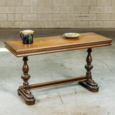 Walnut Library Table