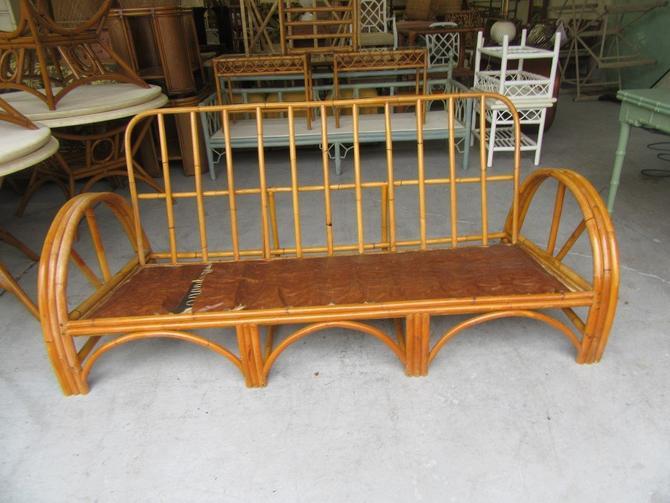 Bamboo 3 Band Frankel Style Sofa