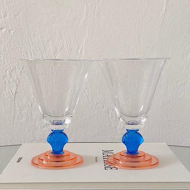 Acrylic Shell Goblets