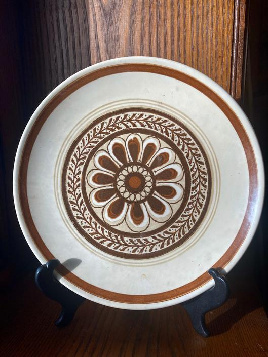 Royal China USA Cavalier Ironstone Dinner Plates and Platter by RavenPearVintage