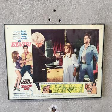 "1965 Original ""Tickle Me"" Lobby Card Movie Poster"