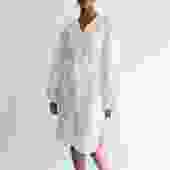 Elizabeth & James Cotton Poplin Belted Midi Dress, Size 4