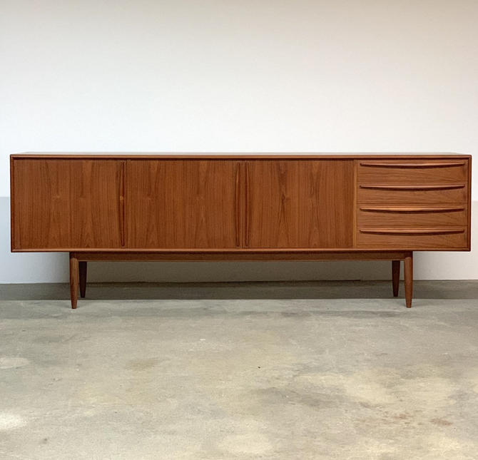 Svend Madsen Teak Credenza by Falster by midcenTree