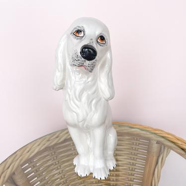 Italian Ceramic Hound Dog