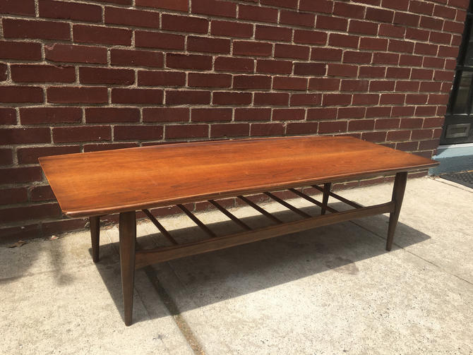 Bassett Furniture Mid Century Coffee Table by bcdrygoods