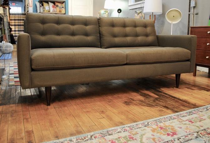 'Florence KNOLL' style Sofa in Gray