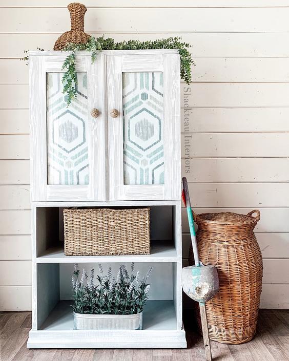 Driftwood Storage Cabinet