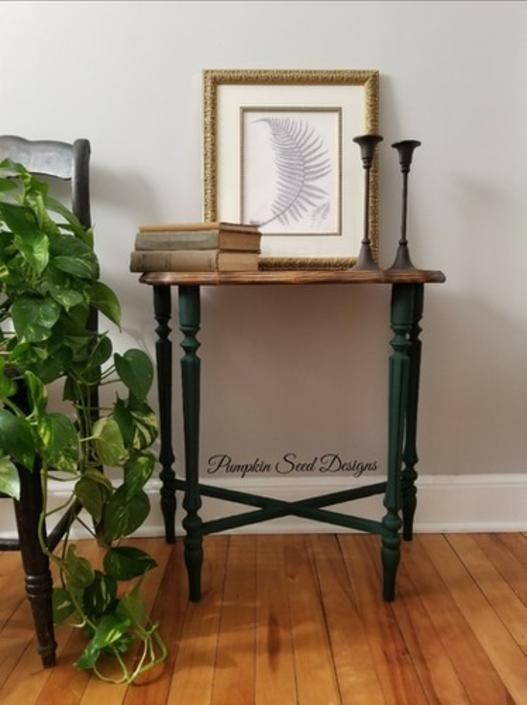 Botanical Accent Table