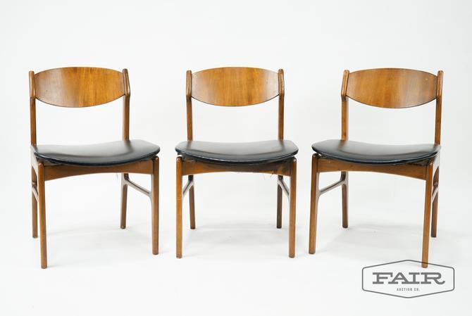 Set of 3 Lane Dining Chairs