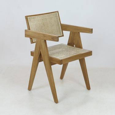 Pierre Jeanneret Office Chair Teak by ShopInteriorTonic