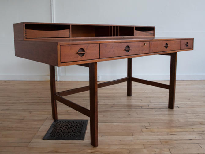 Walnut Partner's Desk by Jens Quistgaard