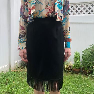 Fringe Skirt by Banana Republic