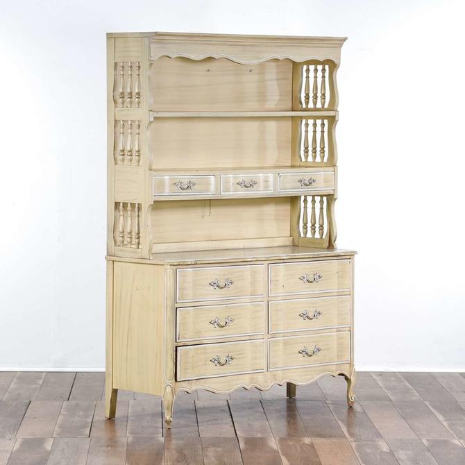 Henry Link French Provincial Hutch Dresser